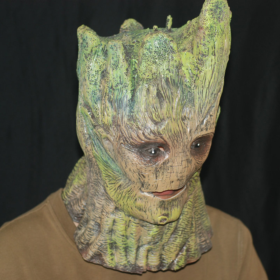 Aliexpress.com : Buy Popular Halloween Cosplay Mask Groot Guardian ...
