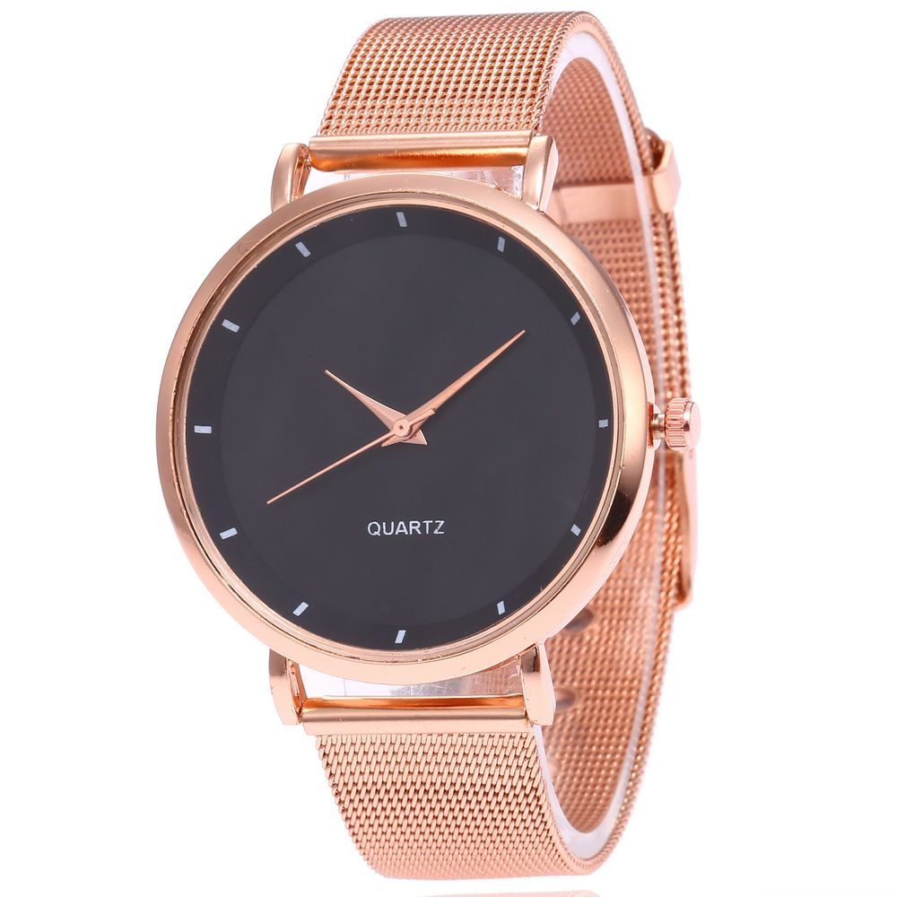 2020 Brand Fashion Simple Dial Women Quartz Watches High Quality Stainless Mesh Strap Watches Watch Casual Ladies Watch Relogio