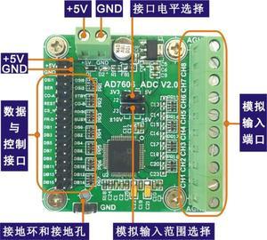 Image 1 - AD7606 modulo modulo di acquisizione dati di 16 bit ADC 8 modo sincrono di frequenza di campionamento di 200kSPS