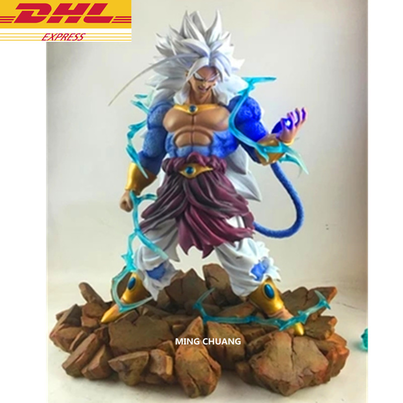 Dragon Ball Z Statue Super Saiyan Broli Paragus Son Bust Son Goku And Gohan Enemy Full-Length Portrait Action Figure Toy D255 free shiping dragonball z super saiyan goku and gohan father figure 18cm pvc