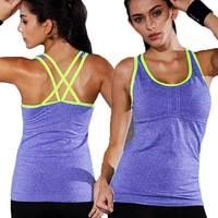 مثير برو ضغط ياقة تمرين تانك للنساء أعلى ممارسة تشغيل الملابس الرياضية الإناث تي شيرت سترة gymming yogaing