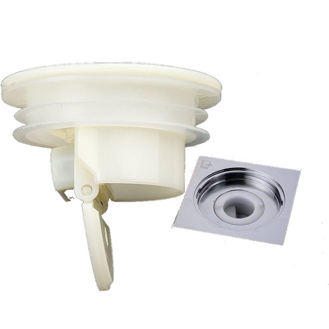 Smell Proof Shower Floor Siphon Drain Cover Sink Strainer ...