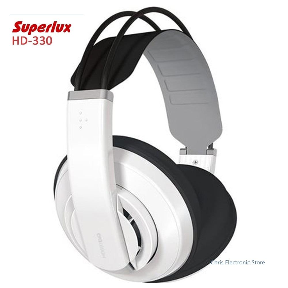 Orignal Superlux HD681EVO Dynamic Semi-open Professional Audio Monitoring Headphones Detachable Audio Cable Headset superlux hd 562 omnibearing headphones noise canceling monitoring rotatable
