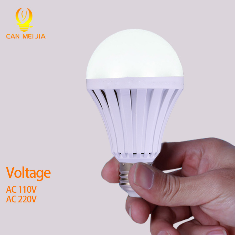 CANMEIJIA LEDs lamp 110V 220V Rechargeable Emergency LED Light Bulbs 5W 7W 9W 12W led Battery Lights Bulb e27 lamps Lighting led smart emergency lamp led bulb led e27 bulb lights light bulb energy saving 5w 7w 9w after power failure automatic lighting