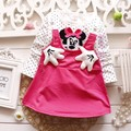 New 2016 baby dress casual kids clothes fashion bow baby clothing summer style dresses cotton child outfits plaid costumes
