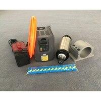 2.2kw Su Soğutmalı Mil Motoru ER20 Freze Mili Kiti + 2.2kw Invertör/Vfd + 80mm Pompası + 13 adet ER20 CNC