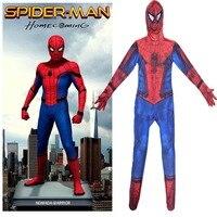 Heigh Kalite Yeni Örümcek Adam Kostüm Çocuk Kahraman Cosplay Cadılar Bayramı Superhero Spiderman Infantil Disfraz Anime Çocuklar Için Suit