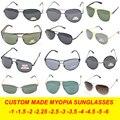 HACER GAFAS POR ELEGIR MARCO de Encargo Miopes de Prescripción Menos Polarizadas Sunglasses-1-1.5-2-2.5-3-3.5-4