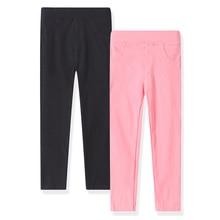 цена на sheecute 2-Pack Girls' Stretch Twill Skinny Leg Pant Pull-on Capri Pant