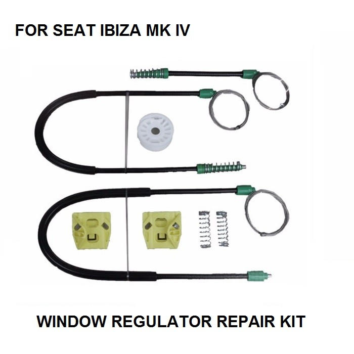 FOR SEAT IBIZA MK IV ELECTRIC WINDOW REGULATOR FRONT-RIGHT 2002-2009