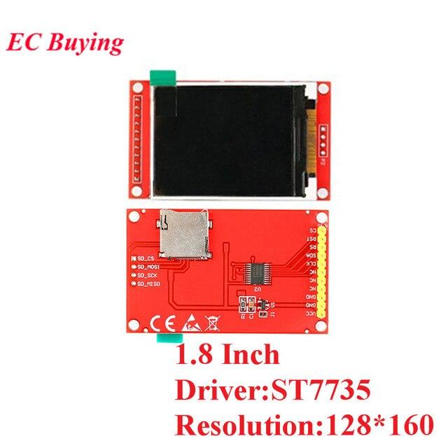 1.44/1.8/2.0/2.2/2.4/2.8 Inch TFT Color Screen LCD Display Module Drive ST7735 ILI9225 ILI9341 Interface SPI 128*128 240*320 2