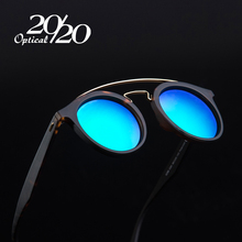 20/20 Brand Retro Classic Polarized Sunglasses Men Metal  Round Sun Glasses Women Oculos Gafas Driving Eyewear