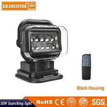 50 Watts controle remoto Sem Fio LED luz de trabalho com forte magnética 12 V 24 V holofotes pesquisa Camping lâmpada de pesca barco x1pc