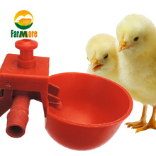 10Set Chicken Waterer Hens Quail Birds Drinking Bowls Water for Coop Chick Nipple Drinkers Poultry Farm Animal Supplies