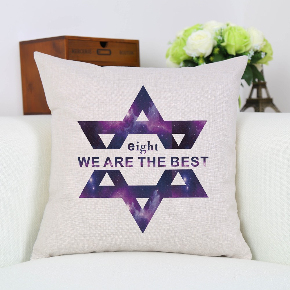 Funda de almohada Exo Star Bigbang Somos el mejor asiento de sofá de - Textiles para el hogar