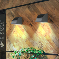 Thrisdar High Brightness 12W Outdoor Waterproof LED Wall Lamp Aluminum Garden Wall Porch Light Aisle Corridor Balcony Wall Light