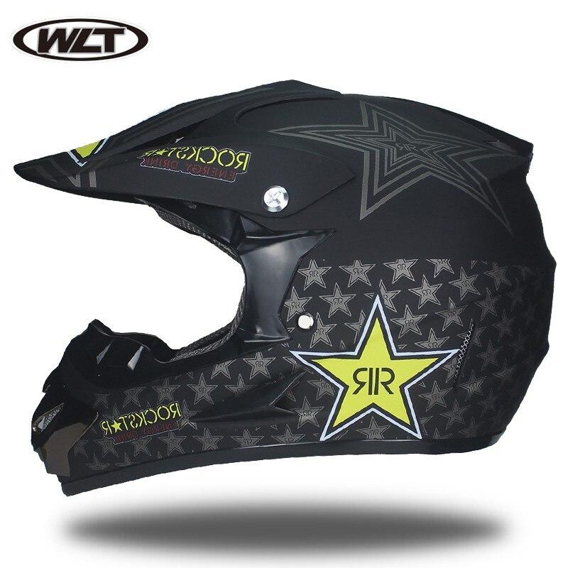 Punto certificado hombres motocicleta Motocross casco protector ATV todoterreno downhill DH bicicleta de montaña Capacete