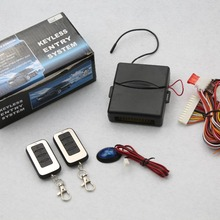 Vehicle Keyless Entry System With Remote Controllers Car alarm