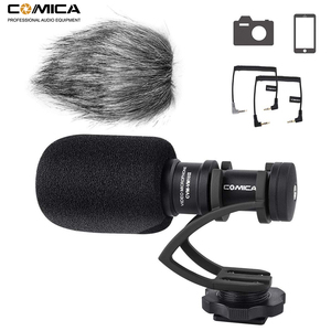 Image 1 - Comica CVM VM10II Mini Video Microphone Directional Interview Recording Mic for Canon Nikon DSLR Camera for iPhone Smartphones