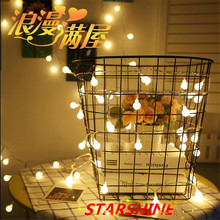 Hot selling 220V 5M 28 LED Cherry Ball bulb string lights Garland LED Christmas decorations Festival outdoor Wedding Garland Hom