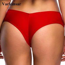ed9e6cf0272 S - 3XL V shape sexy female swimwear women Bather swim brief brazilian bikini  bottom scrunch butt tanga panties underwear V130