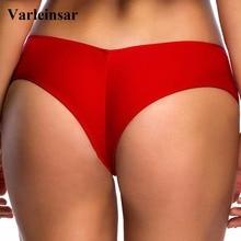 S - 3XL V shape sexy female swimwear women Bather swim brief brazilian bikini bottom scrunch butt tanga panties underwear V130