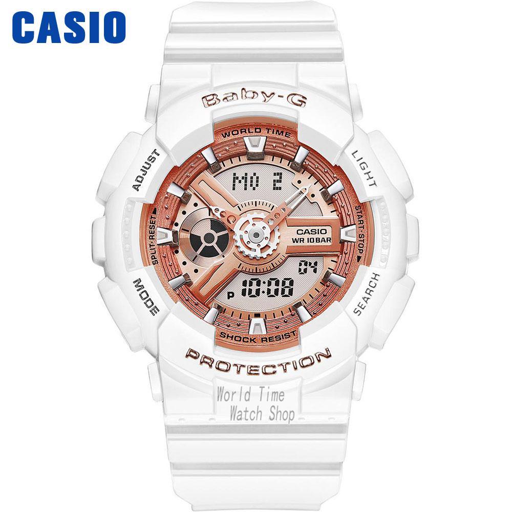 Casio watch  Fashion sports waterproof double display electronic watch BA-110-1A BA-110-7A1 BA-110-7A3 BA-110CA-2A BA-110CA-4A casio ba 110 7a1 casio