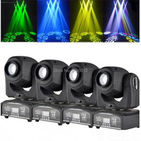 4pcs Lot 30W LED Gobo Light 30W LED Spot Moving Head DMX512 Effect Stage Lighting Home