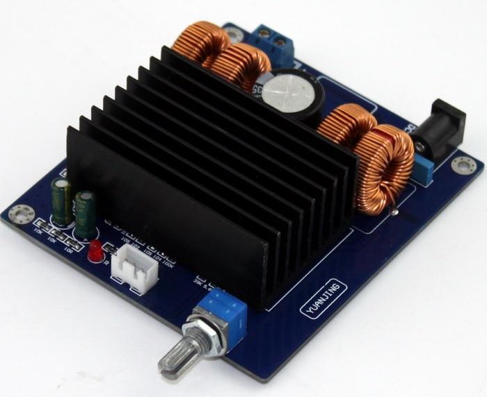 DC32V 6A 150W Mono font b amplifier b font board TDA7498 font b subwoofer b font