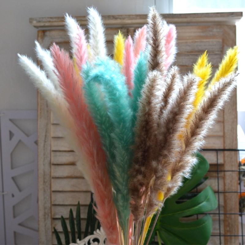 Камыш Рид цветок кафетерий установить украшение гостиной съемки реквизит оптовая продажа бесплатная доставка