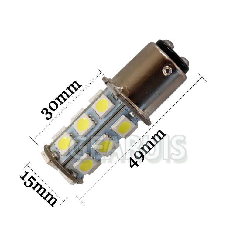 1157 strobe נורות BAY15D 5050 18SMD 18 SMD 12V LED אור רכב בלם led Strobe פלאש הנורה זנב אור led הנורה