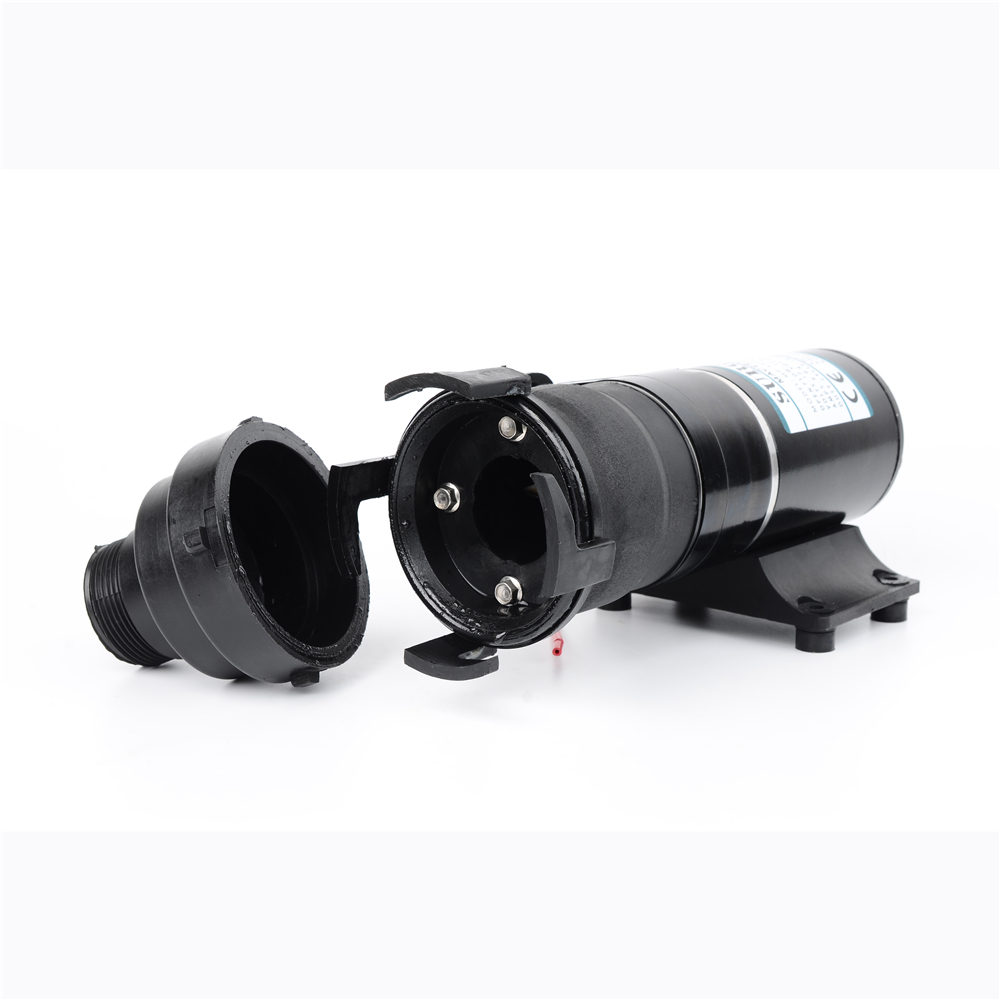 DC 12V/24V 45L/Min sewage Septic tank caravanning Household Toilet Kitchen Garbage boat bilge water pump Detachable MP-4500-2 mp 4500 24 24v dc sewage macerator pump 45l min centrifugal water pump bilge sewage pump