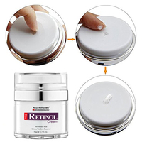 Retinol Moisturizer Cream for Face and Eye Area with Hyaluronic Acid, Vitamin E - Best Day and Night Anti Aging Formula 50g/pc 5