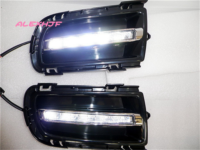 July King LED Daytime Running Lights DRL, LED Front Bumper Fog Lamp Case for Mazda 6 2005~2010, 1:1 Replacement, Fast Shipping for opel astra h gtc 2005 15 h11 wiring harness sockets wire connector switch 2 fog lights drl front bumper 5d lens led lamp
