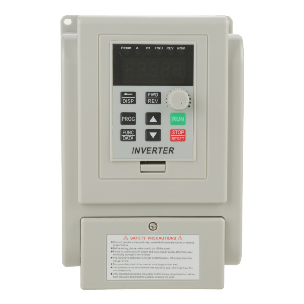 AC 220V 1 5KW Frequency Converters Inverters Variable Frequency Drive VFD Speed Controller 8A Frequency Converter
