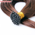I Tip Hair Extensions Unprocessed Brazilian Remy Hair Straight Keratin Fusion Hair Extensions 1Gram Pre Bonded I Tip Hair