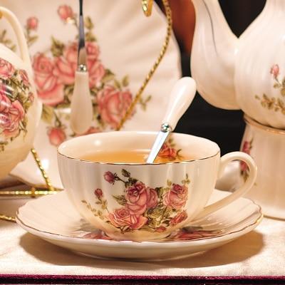 200 мл Афины керамическая кофейная чашка блюдце набор капучино кофе фарфоровая чашка блюдо послеобеденный чай чашка изысканный подарок - Цвет: 01 Set
