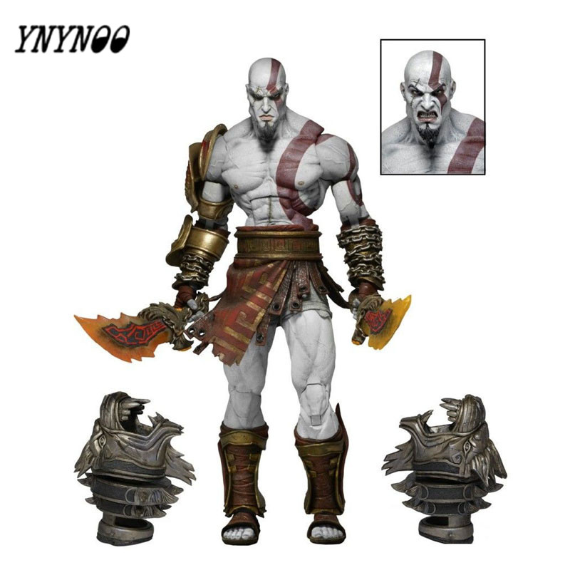 YNYNOO 22cm/9 God of War 3 Ghost of Sparta Kratos PVC Action Figure Collectible Model Toy For Enthusiasts