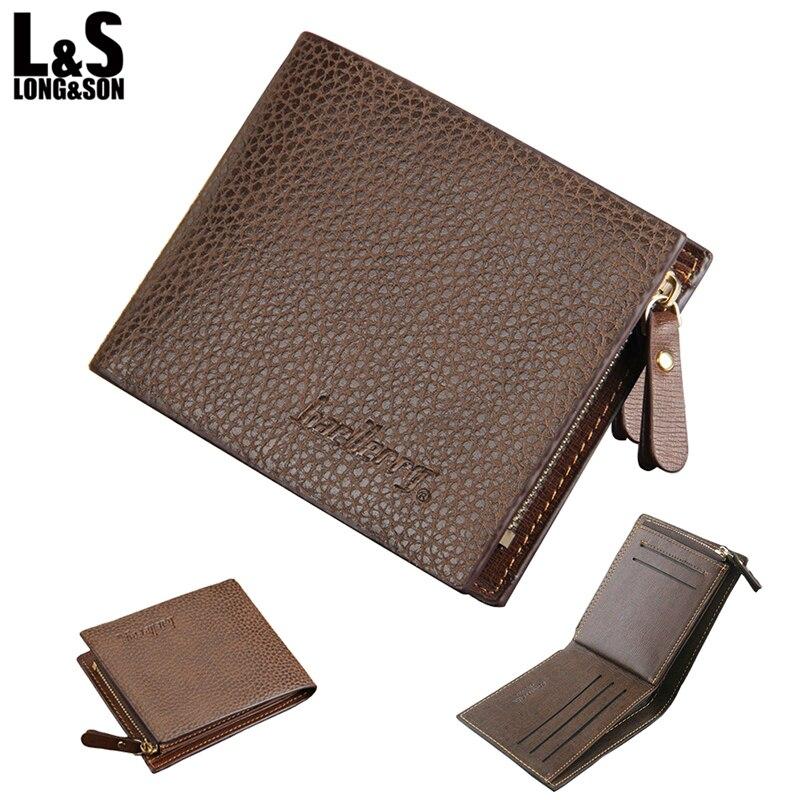 New Men/'s Fashion Genuine Leather Credit Card Wallet Pocket Purse /<MW017/>