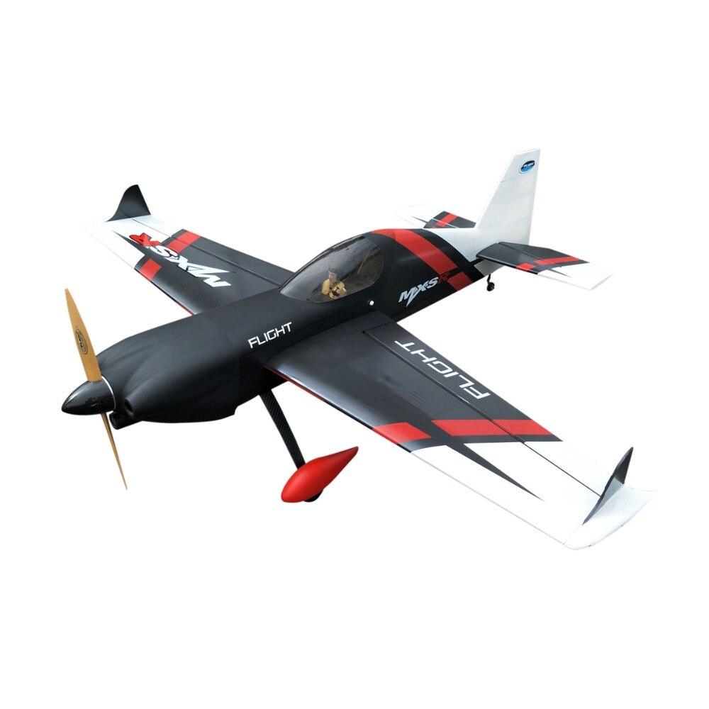 Vôo Novo MXS-R 20CC Gás Modelo A Gasolina de Avião RC Controle Remoto Aviões 6 Canais 3D ARF Avião de Asa Fixa