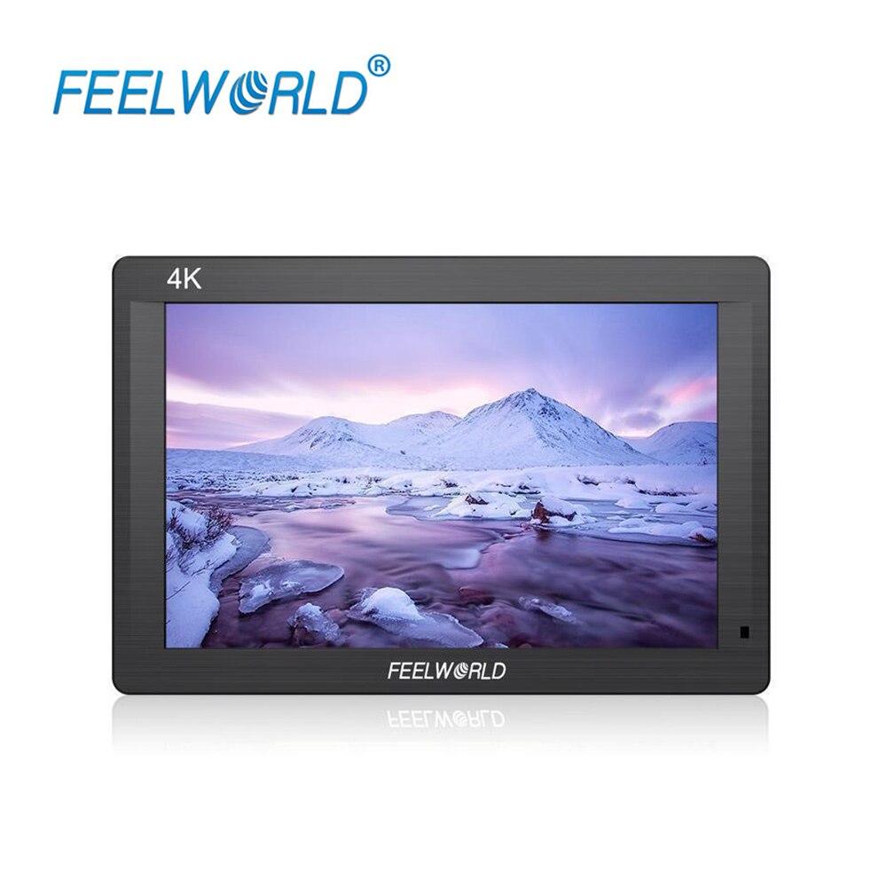 FEELWORLD FH7 HDMI 입력 / 출력 IPS Full HD 1920x1200 DSLR 모니터가 장착 된 7 ''4K 온 카메라 모니터