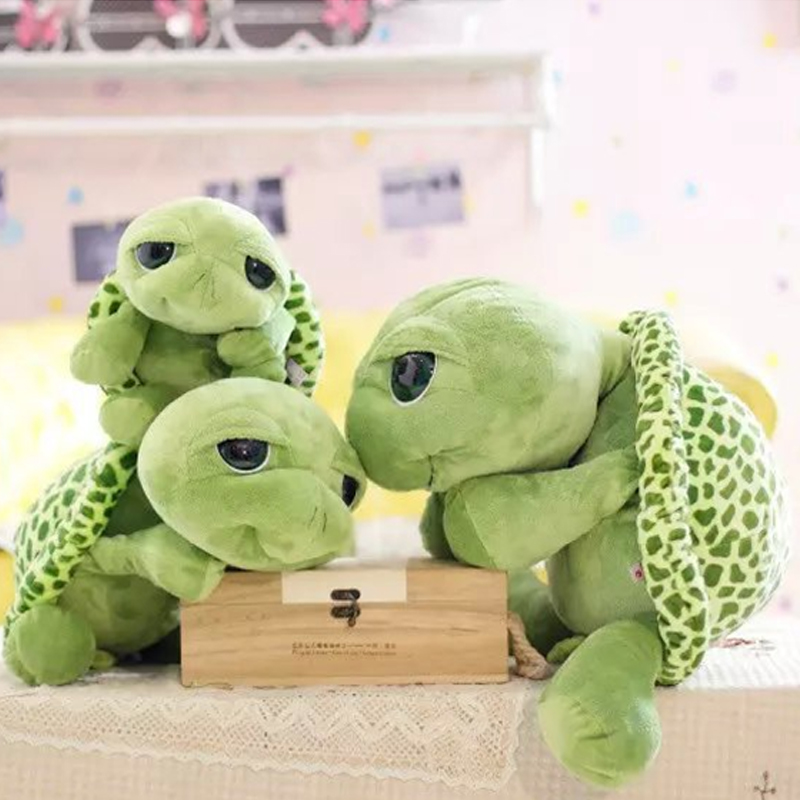 Huge Size Plush Tortoise Toy Cute Turtle Plush Pillow Staffed Cushion for Girls Vanlentines Day Gift 20 25 30 40 60CM