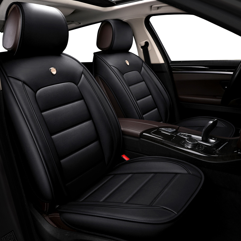 Image 2 - kokololee pu leather car seat cover For chevrolet sonic mercedes w204 w211 w212 skoda kodiaq bmw g30 car styling car accessories-in Automobiles Seat Covers from Automobiles & Motorcycles
