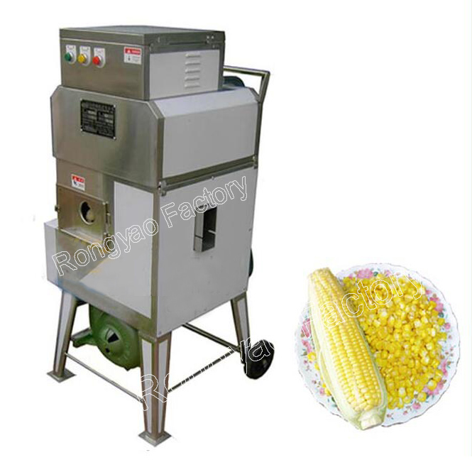 Fresh corn shelling machine automatic stainless steel for Fresh home appliances
