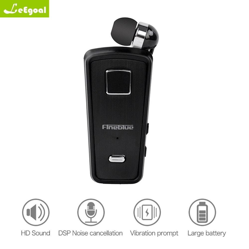 Leegoal F980 Sans Fil Bluetooth D'affaires Casque Clarté des Appels Musique Smart un glisser deux Bluetooth Écouteur En Gros