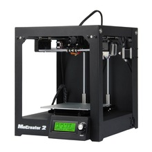 Full Assembled 3D Printer Me Creator 2 Upgraded MK8 Extruder Print 160x160x160mm Wholesale 3D Printer