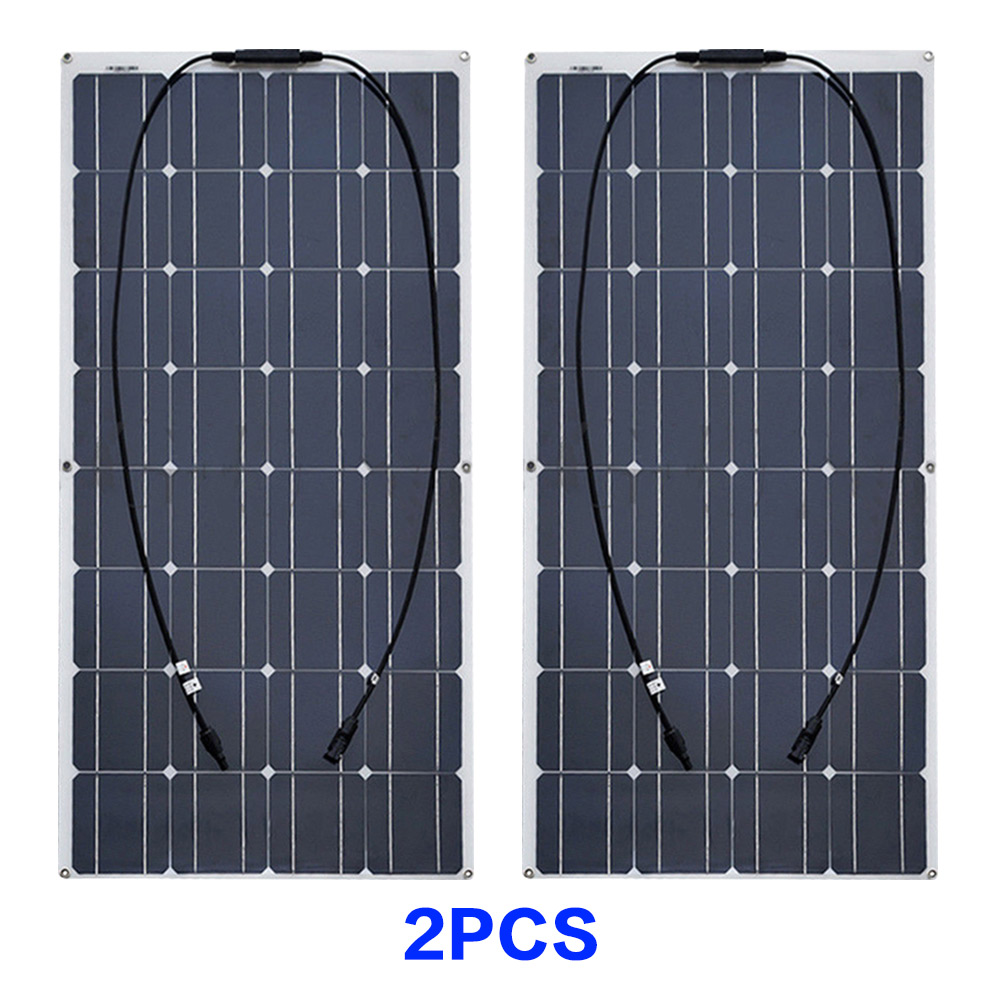 2pcs solar panels
