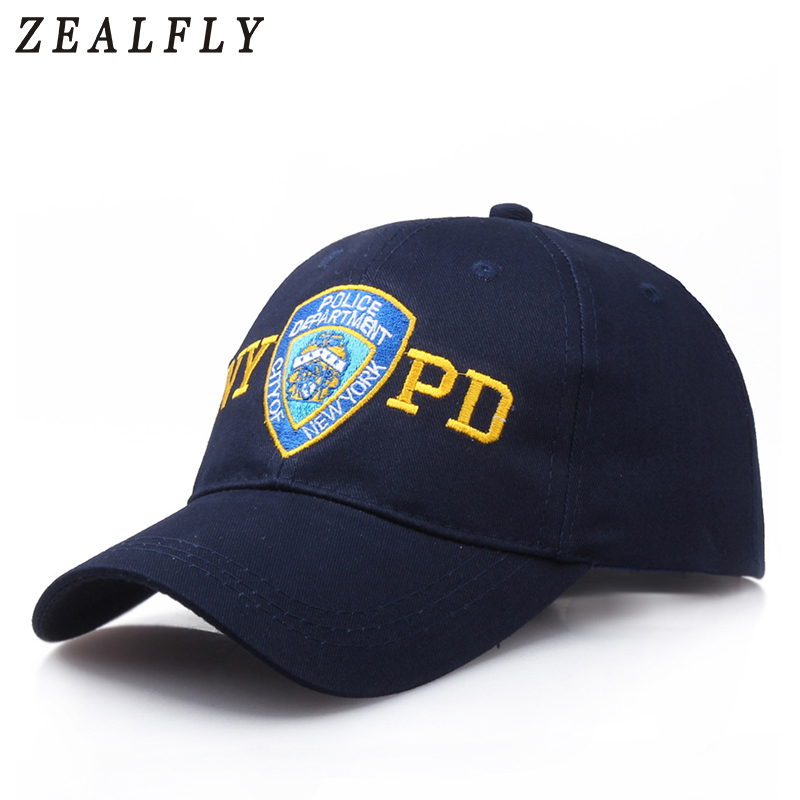 New Fashion Police   Baseball     Cap   Embroidery NYPD Tactical   Caps   Men Women Outdoors Army Hat Casual Dad Hat Mens Snapback Casquette