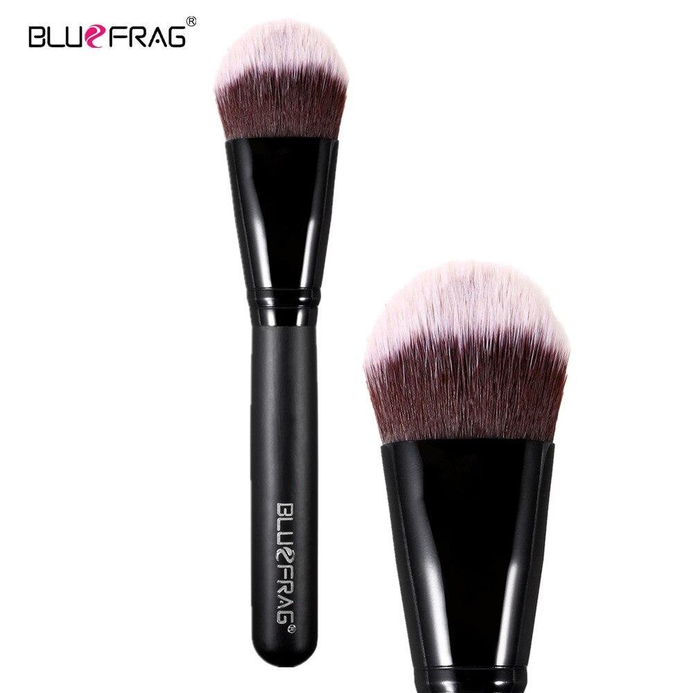 BLUEFRAG Domed Stippling Brush Duo Fiber Versatile Makeup Brush for Face Cheek Powder Foundation  Blush Makeup Tools BLBR0133