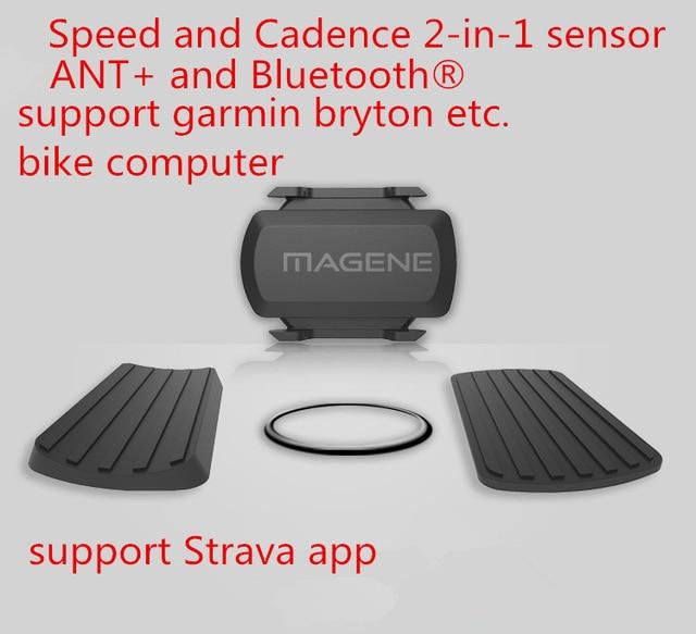 Sensor de cadencia de bicicleta mabene + Bluetooth 4,0 inalámbrico para computadora de bicicleta Strava garmin iGPSPORT